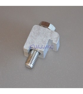 Griffe simple Aluminium ISO-K vers ISO-F