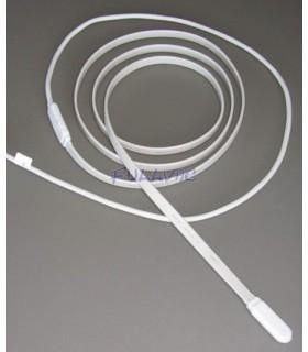 Rubans chauffants isolation élastomère de silicone sans tresse de protection