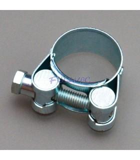 Collier de serrage pour tuyau à vide renforcé