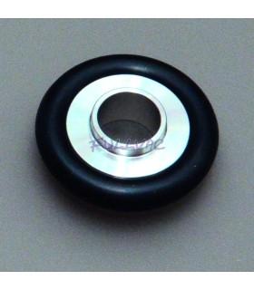 Anneau de centrage adaptateurs (inox 304) + joint viton KF