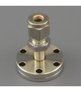 Adaptateur CF - tube lisse raccord à compression double bague