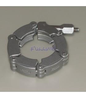 Collier de serrage tension en inox ou en aluminium pour bride KF